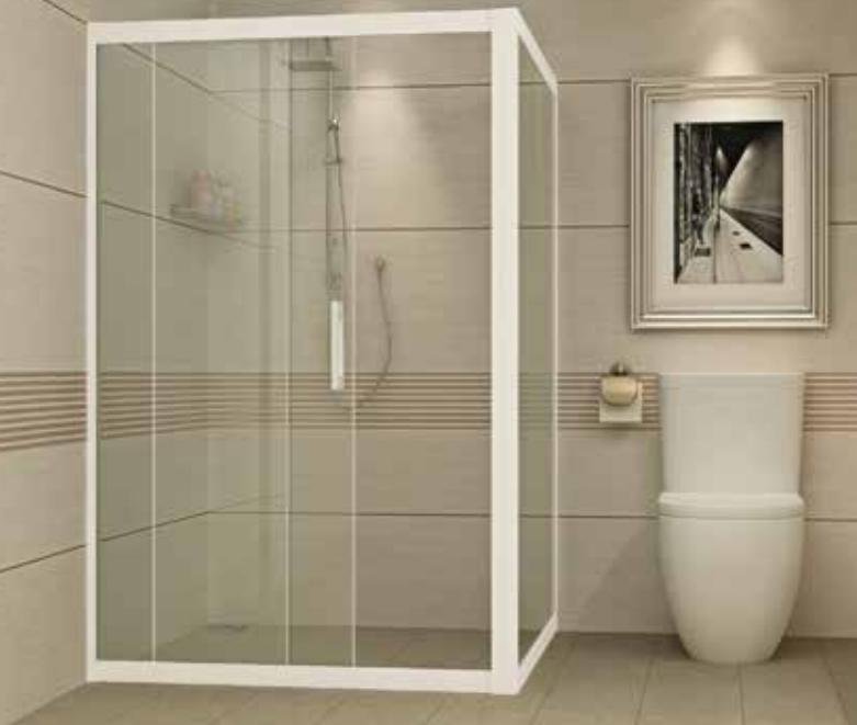 vách kính tắm đứng