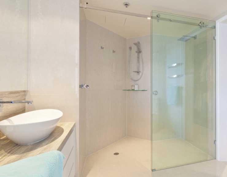 Cửa kính lùa phòng tắm
