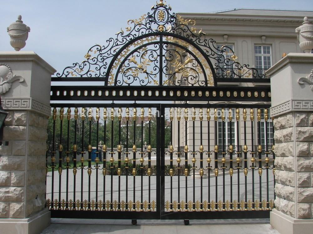 Ưu điểm nổi bật của cửa cổng sắt