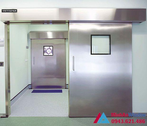 Cửa tự động phòng bệnh viện