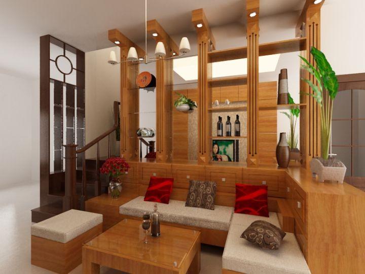 Thi công trang trí đồ gỗ nội thất