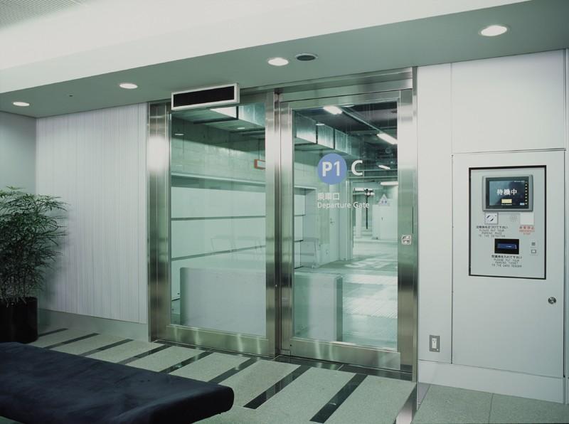 Cửa kính cường lực tự động Teraoka