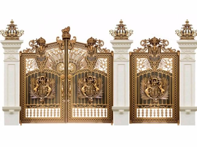 Đặc điểm của cổng nhôm đúc
