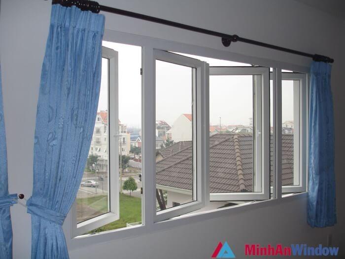 99+ mẫu cửa sổ nhôm kính 2 cánh đẹp giá rẻ cho không gian Việt