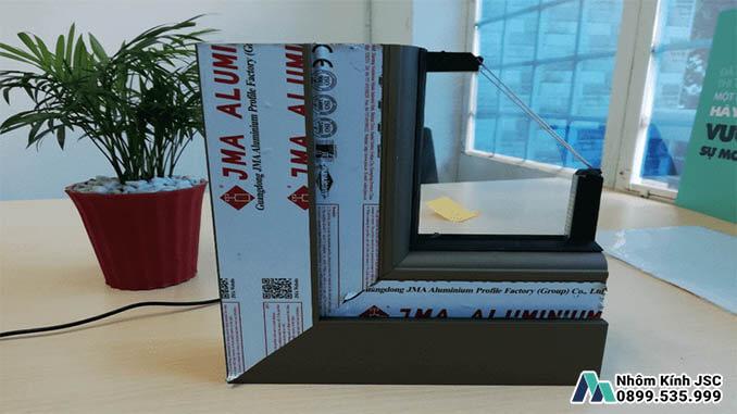 Mẫu Cửa Nhôm Cầu Cách Nhiệt JMA Cao Cấp - Nhôm Kính JSC Thi Công & Lắp Đặt