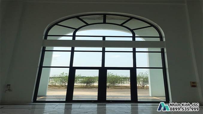 Cửa Nhôm Xingfa 2 Cánh Cao Cấp Chất Lượng - Nhôm Kính JSC Đã Thi Công